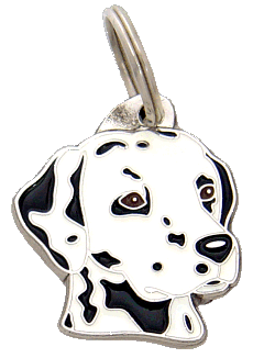 DALMATIAN - pet ID tag, dog ID tags, pet tags, personalized pet tags MjavHov - engraved pet tags online